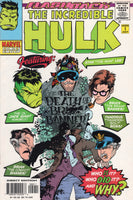 Incredible Hulk -1 Flashback Issue Grave Matters... Stan Lee Appearance NM