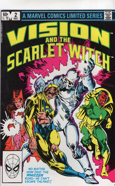 Vision And The Scarlet Witch #2 1982 Mini-Series FVF