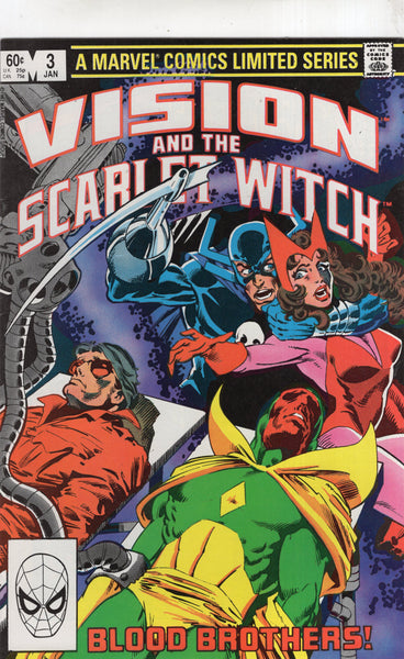 Vision And The Scarlet Witch #3 1982 Mini-Series FVF