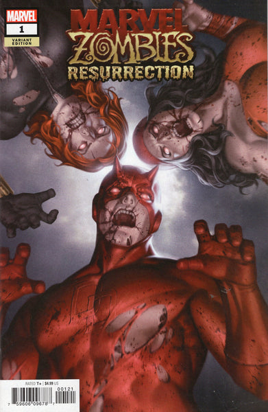 Marvel Zombies: Resurrection #1 Variant Cover NM-