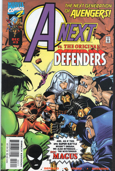 A-Next #3 vs The Original Defenders! VF