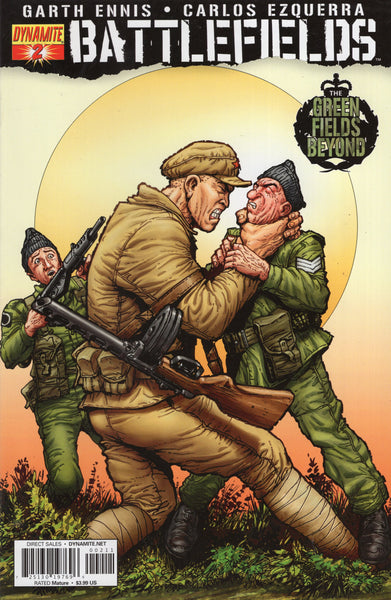 Battlefields #2 Dynamite Ent Mature Readers VF