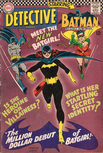 Detective Comics #359 Silver Age Key First Batgirl VG