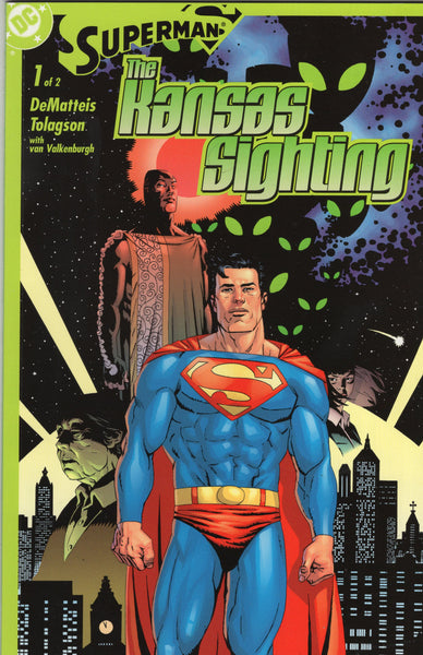 Superman: The Kansas Sighting 2 Part Prestige Format Series Complete NM