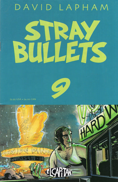 Stray Bullets #9 David Lapham Mature Readers FVF