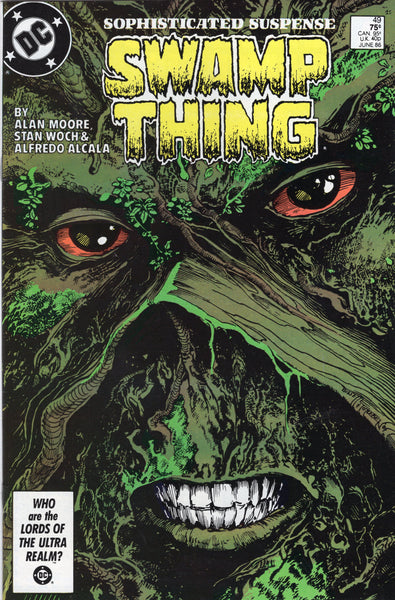 Swamp Thing #49 Alan Moore First Justice League Dark VFNM