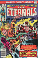 "Eternals #6 ""Gods And Men!"" Bronze Age Kirby Classic FVF"