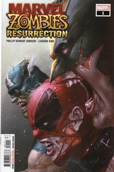 Marvel Zombies: Resurrection #1 First Print Here Comes Galactus! VFNM