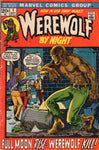 Werewolf By Night #1 Awesome Ploog Art Bronze Age Key Horror Issue VG