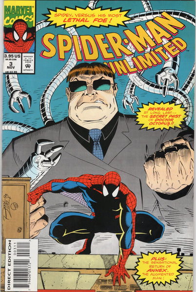 Spider-Man Unlimited #3 The Secret Of Doctor Octopus! NM-