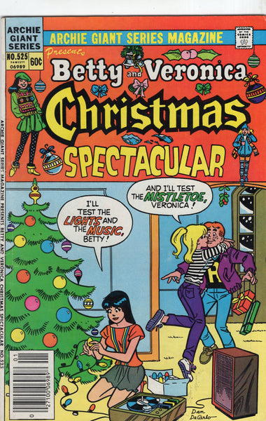 Archie Giant Series Giant Magazine #525 Betty And Veronica Christmas Spectacular VG