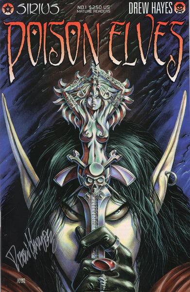 Poison Elves #1 Linsner Cover Signed By Drew Hayes Mature Readers! VFNM