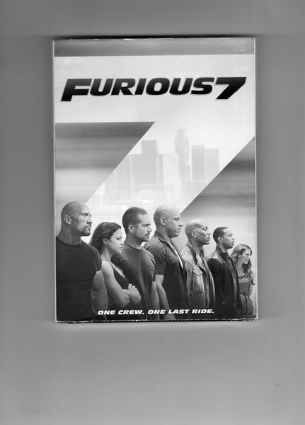 Furious 7 Sealed DVD (Fast 'n Furious) Paul Walkers last Furious Movie