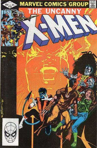 Uncanny X-Men #159 Storm & The Prince Of Darkness! VG