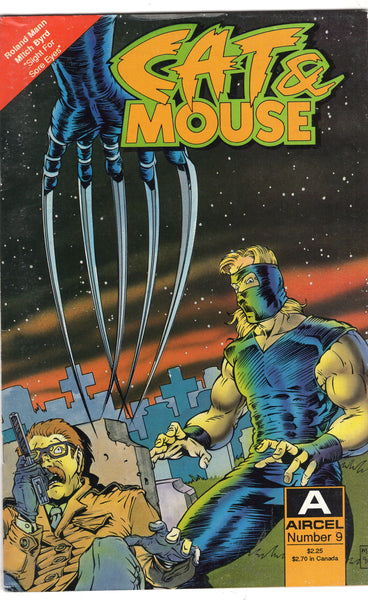 Cat & Mouse #9 Aircel Comics Mature Readers VG