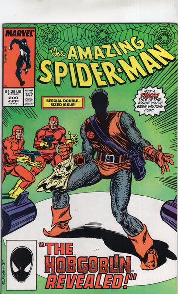 Amazing Spider-Man #289 The Hobgoblin Revealed! VF-