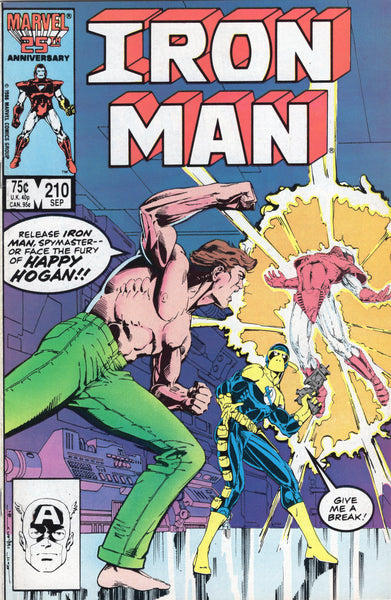 Iron Man #210 The Fury Of Happy Hogan! VF