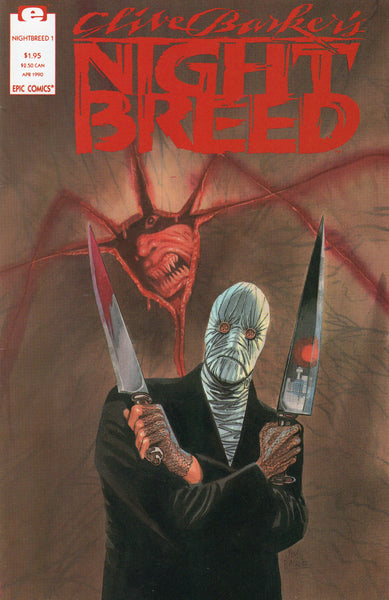 Clive Barker's Night Breed #1 Where The Monster's Go! Horror For Mature Readers VF