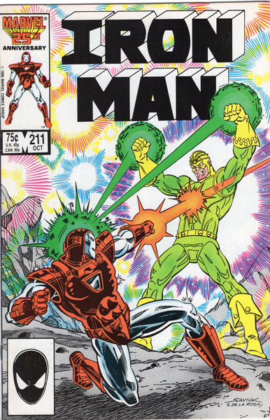 Iron Man #211 Seeing The Light! VF