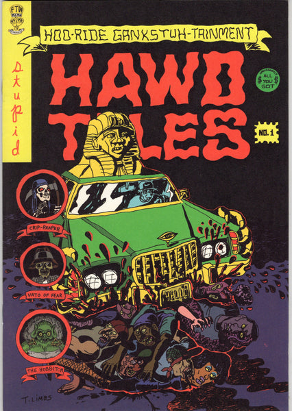 Hawd Tales #1 HTF Indy Mature Readers VFNM
