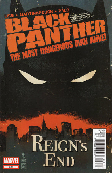 Black Panther: The Most Dangerous Man Alive #529 FNVF