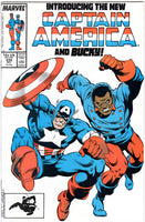 Captain America #334 The New Cap And Bucky! VF