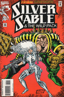 Silver Sable & The Wild Pack #32 w/ The Sandman HTF Later Issue VF