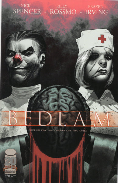 Bedlam #2 Are You Evil! First Print Mature Readers NM-