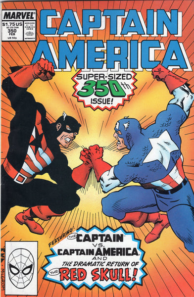 Captain America #350 VF