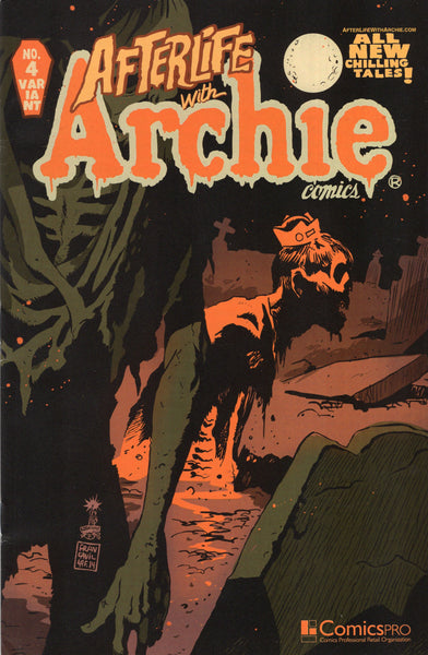 Afterlife With Archie #4 Variant Cover FVF