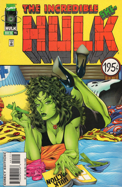 Incredible Hulk #441 She-Hulk Pulp Fiction Cover VFNM