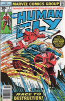 Human Fly #2 Death Race W/ The Ghost Rider! Bronze Age Classic VF-