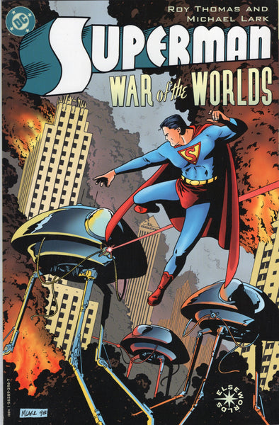 Superman: War Of The Worlds Prestige Format Elseworlds Graphic Novel VFNM