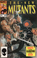 New Mutants #29 Sunspot vs. The Gladiators To The Death! VF