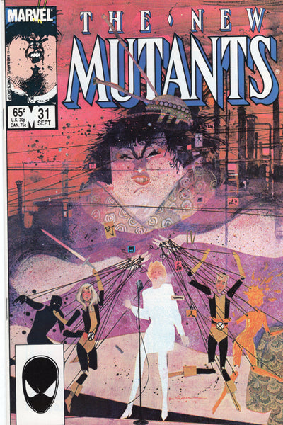 New Mutants #31 Saturday Night Fight! VF