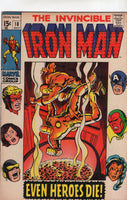 Iron Man #18 The Avengers! Silver Age FN