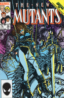 New Mutants #36 Subway To Salvation! Barry Smith cover VF