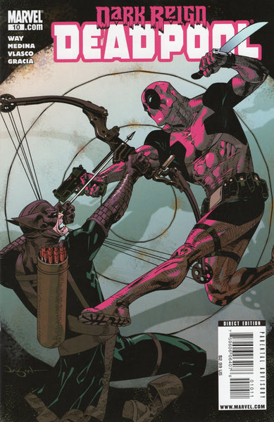 Deadpool #10 Dark Reign! 2009 NM-