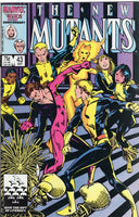 New Mutants #43 Getting Eeven! Barry Smith cover FVF