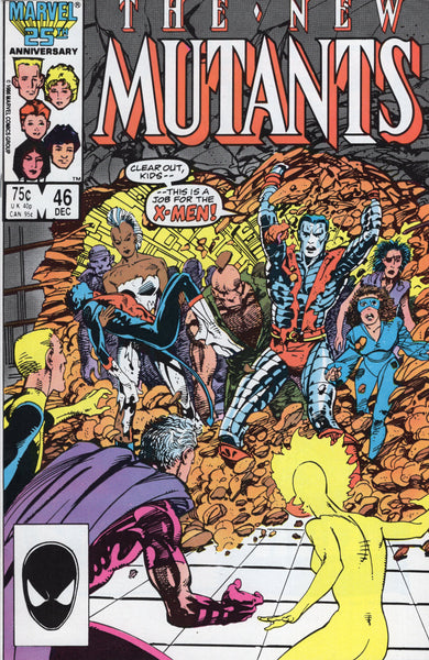 New Mutants #46 This Is A Job For The X-Men! VF