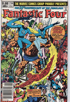 Fantastic Four #236 Triple Sized Anniversary Byrne Words & Pictures News Stand Variant FVF