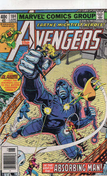 Avengers #184 The Absorbing Man! Bronze Age VG