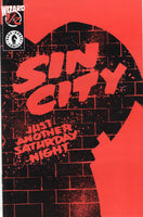 Sin City #1/2 Just Another Saturday Night Frank Miller Wizard Promo w/ COA Mature Readers VF-