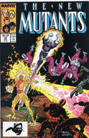New Mutants #54 The Ratrace! VF