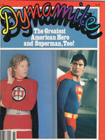 Dynamite Magazine #88 Featuring Superman & The World's Greatest Hero! HTF VGFN