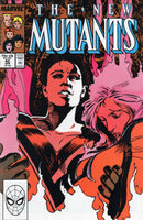 New Mutants #62 To Build A Fire! VF