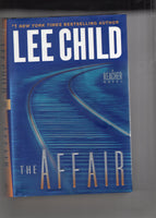 "Lee Child ""The Affair"" A Jack Reacher Novel First Edition Hardcover w/ Dustjacket FN"