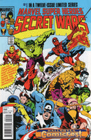 Marvel Super Heroes Secret Wars #1 Comicfest Halloween Variant VFNM