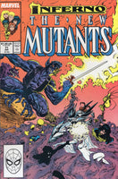 New Mutants #71 Infereno! VF