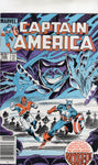 Captain America #306 Modred The Dark Mage! News Stand Variant VFNM